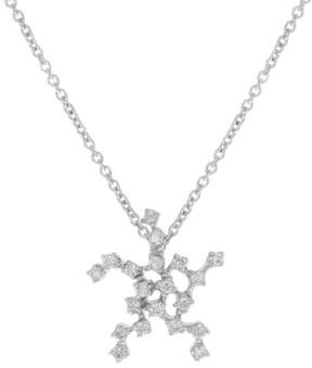 Damiani 18K White Gold & 0.23ct Diamonds Pendant Necklace