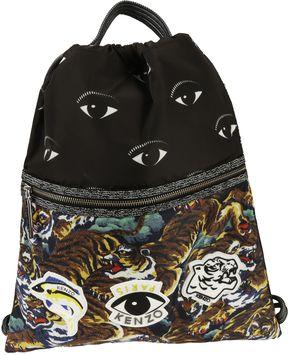 Kenzo Multi Icon Drawstring Backpack