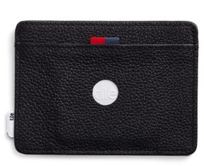 Herschel Men's Tile Slim Charlie Leather Card Case - Black