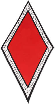 Henri Bendel Bendel Sport Diamond Silk Scarf