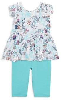 Splendid Baby's Floral-Print Top& Pants Set