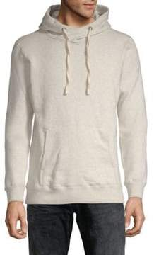 Scotch & Soda Home Alone Twisted Cotton Hoodie