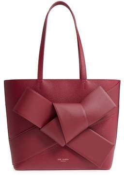 Ted Baker Giant Knot Leather Shopper
