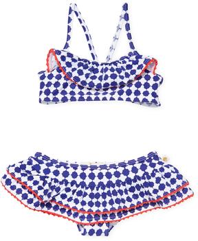 Kate Spade Printed Bikini Set