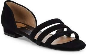 Dolce Vita Women's Deidra Three-Strap Leather Sandals