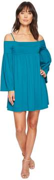 Susana Monaco Alyssa String Off Shoulder Dress Women's Dress