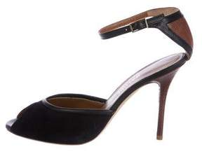 Malone Souliers Lolo Karung-Trimmed Pumps