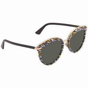 Christian Dior Grey Round Sunglasses OFFSET2S 09N7