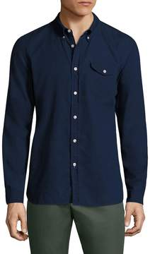Jachs Men's Cotton Shield Pocket Sportshirt