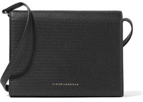 Victoria Beckham - Star Mini Embossed Textured-leather Shoulder Bag - Black