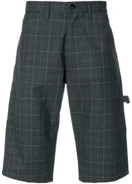 Junya Watanabe checked shorts