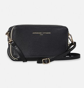 Double Zip Charging Crossbody
