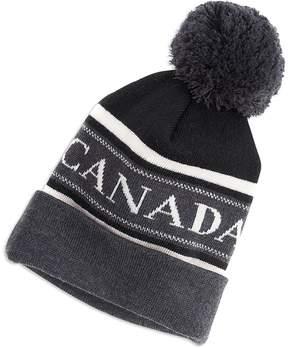Canada Goose Merino Logo Pom Hat