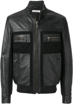 Dirk Bikkembergs panelled jacket