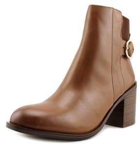 Aldo Rosaldee Women Round Toe Leather Brown Ankle Boot.