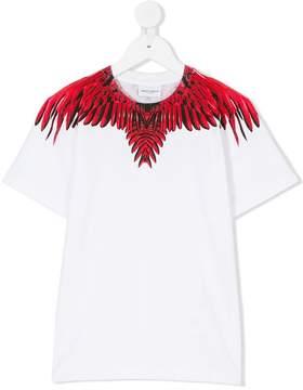 Marcelo Burlon County of Milan Kids wing printed T-shirt