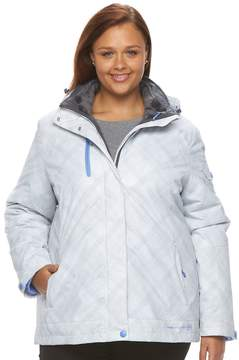 Free Country Plus Size Faux-Fur 3-in- 1 Systems Jacket