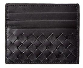 Bottega Veneta Intrecciato Leather Card Case.