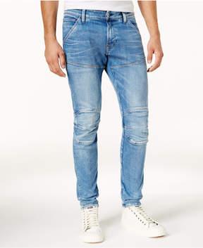 G Star Men's 5620 Super Slim Light Aged Stretch Jeans