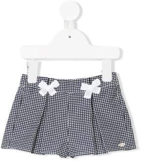 Tartine et Chocolat woven-effect knit shorts