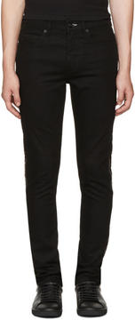 McQ Black Zip Strummer Jeans