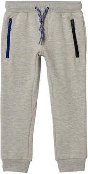Ikks Grey Zip Slim Joggers