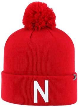 Top of the World Adult Nebraska Cornhuskers Tow Pom Hat