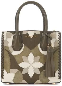 Michael Kors Mercer Olive Green Handbag - VERDE - STYLE