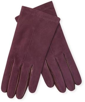 Portolano Women's Solid Leather Gloves