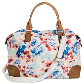 Merona Women's Weekender Handbag - Merona Peach Floral