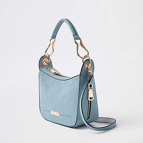 River Island Light blue scoop cross body bag