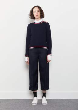 Thom Browne Low Rise Sack Trouser Navy