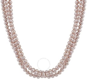 Bella Pearl Purple Freshwater Pearl Necklace