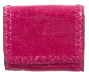 Rebecca Minkoff Leather Coin Pouch - PINK - STYLE