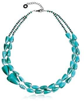Antica Murrina Veneziana Women's Light Blue Steel Necklace.