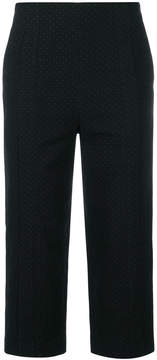 Chalayan padded cropped trousers