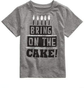 First Impressions Cake-Print T-Shirt, Baby Boys & Girls (0-24 months), Created for Macy's