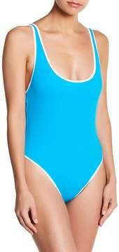 Ach'e A Che' Zia Solid One-Piece Swimsuit