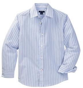Tommy Hilfiger Double Twill Stripe Shirt (Big Boys)