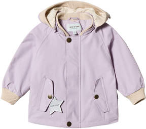 Mini A Ture Iris Lilac Wally Jacket