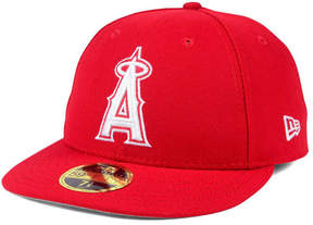New Era Los Angeles Angels Low Profile C-dub 59FIFTY Fitted Cap