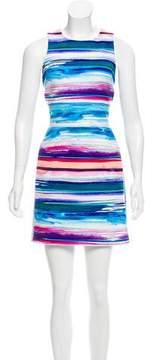Amanda Uprichard Printed Mini Dress w/ Tags