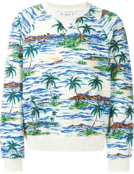 Faith Connexion palm print sweater