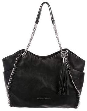 MICHAEL Michael Kors Chain-Link Leather Tote
