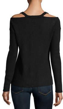 Christopher Fischer Cashmere Cold-Shoulder Sweater