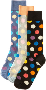 Happy Socks Set Of 3 Socks