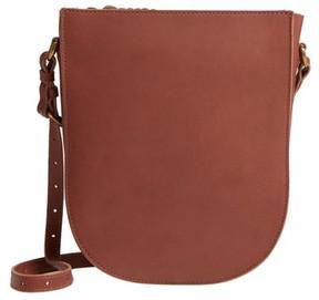 Madewell Juniper Vachetta Leather Shoulder Bag - Brown