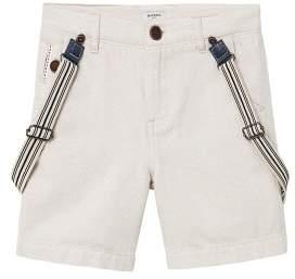 MANGO Braces cotton bermuda shorts