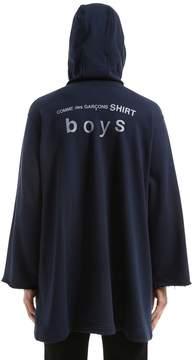 Comme des Garcons Cdg Boys Print Zip-Up Hooded Sweatshirt