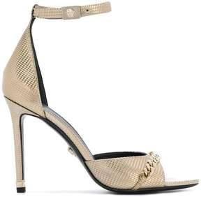 Versace chain detail sandals